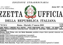 Licenziamento nel decreto Cura Italia
